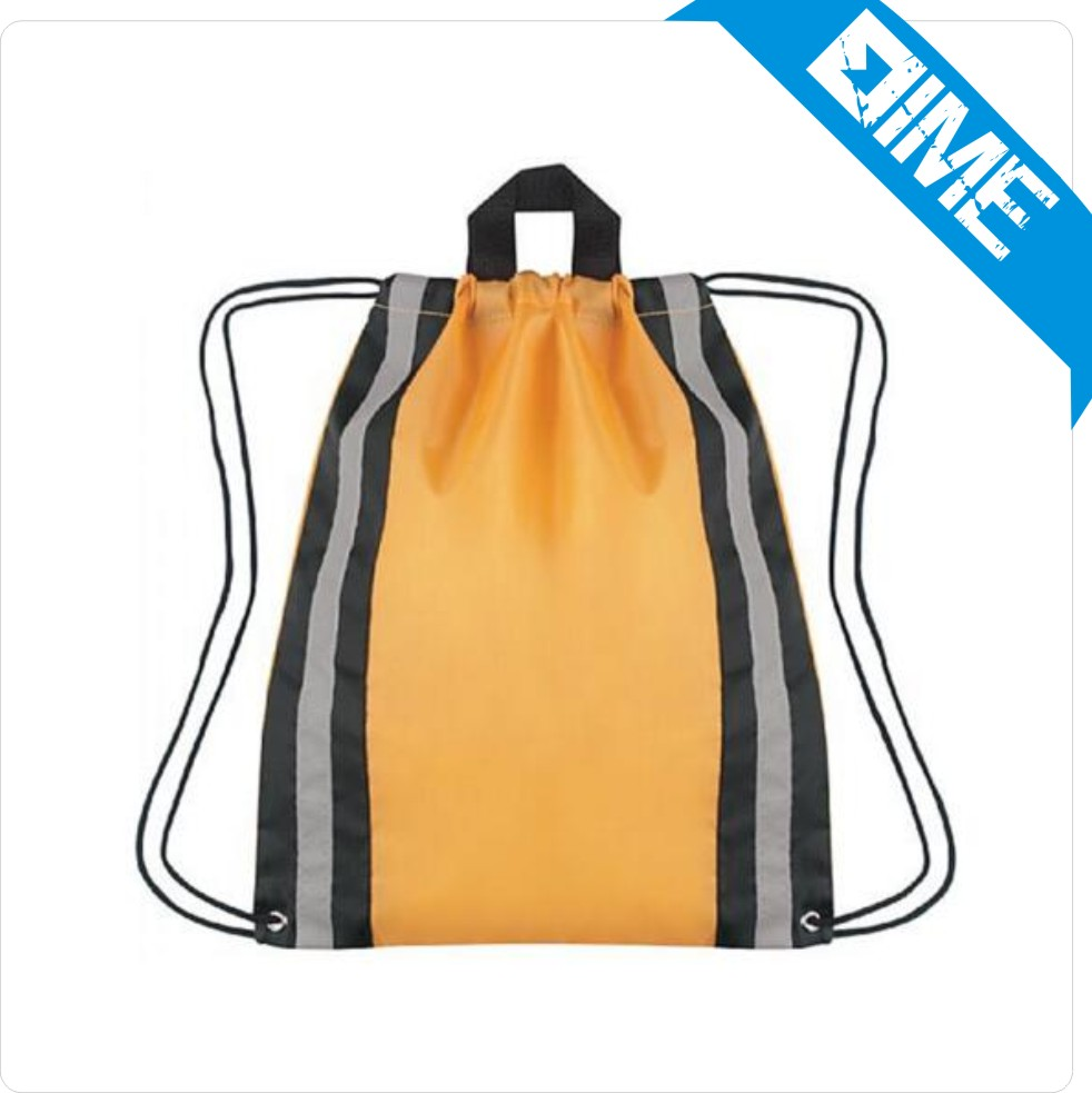 Alibaba Wholesale Online Shopping Cotton Fabric Drawstring Trolley Sport Drawstring Backpack Bag