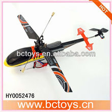 Newest 4ch 2.4g single rotor toy helicopter model tamiya rc toys