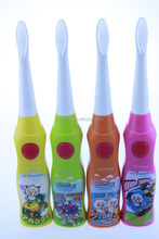 Kids baby children teeth cleaning battery operated sonic electric toothbrush