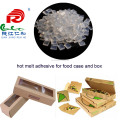 high quality no smelly food case sealing adhesive with food grade