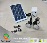 Sunshine SS 02-11-L2 Portable Home Solar Lighting System Kit, Solar Light Kit, Solar Power Lighting with phone charger