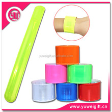 Promotion customized silicone slap bracelet/slap band