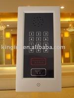 hotel guest room bathroom phone/telephone