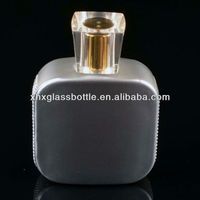 branded glass perfume bottle for Eau de perfume