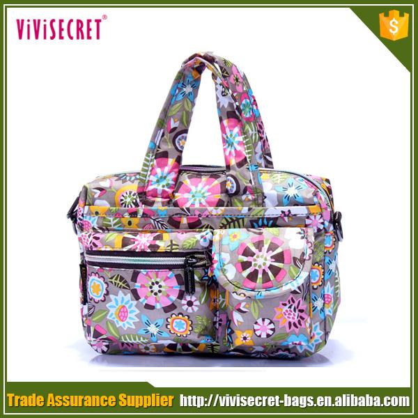 Nylon cheap printing fashion ladies handbags on sale buy handbags
