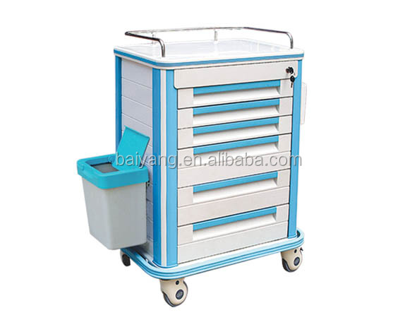 ABS medicine delivery trolley