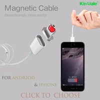 Magnetic Sync Data Cable Strong USB Charger For Apple for iPhone 7 6 6s 5s