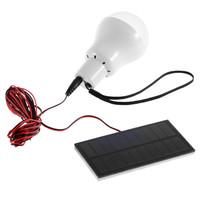 150lumen 0.8W/5V Portable Solar Power LED Bulb Lamp Solar panel Outdoor Lighting Camp Tent Fishing Lamp,Garden Light free