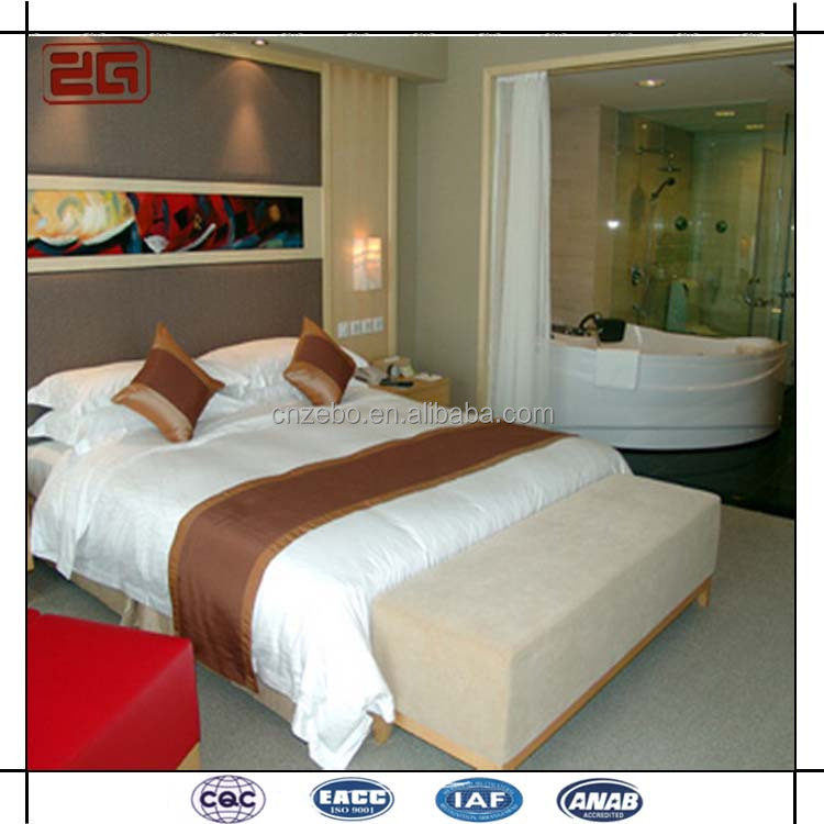 3 Star Hotel Used 250TC Cotton Bedsheets Cheap Hotel Bedding Sets in Guangzhou
