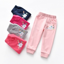 Wholesales high quality knitted <strong>sports</strong> track pants for children
