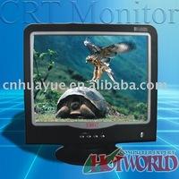 17' pure flat crt monitor
