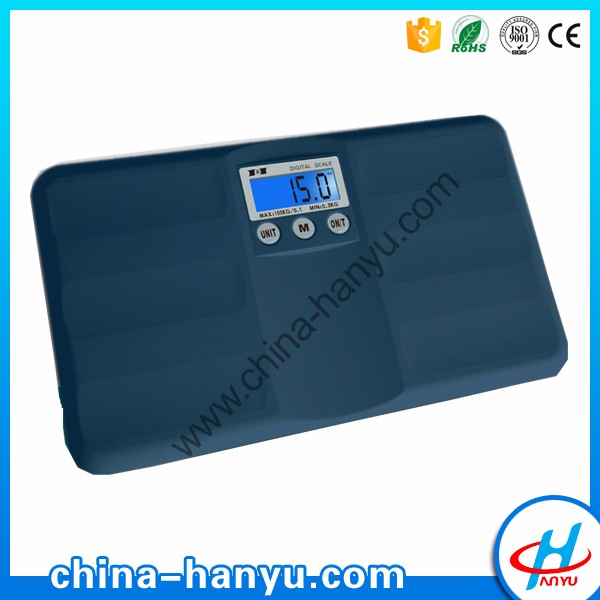 HY-27 mini cheap human 150kg digital portable body weighing scale