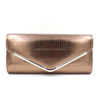 Top quality clutch bags colorful envelope handbag