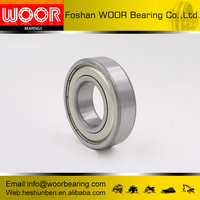 WOOR ceiling fans waterproof bearings Deep Groove Ball Bearing 6205 with high precision
