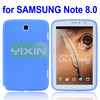 Soft Color Back Cover for Samsung Note 8.0 Silicone Case