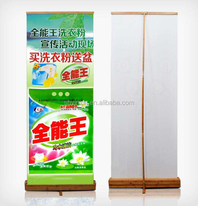 Advertising light box light frame roll up display stand cheap price