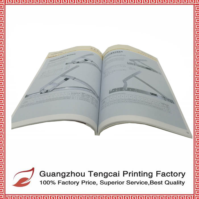 Perfect bound soft cover book with glossy laminated custom printing