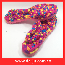 Hand Craft Work Knitting Shoes Home Industri Sandal