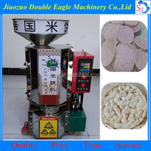 healthy snacks rice cake puffing machine /rice crackers maker