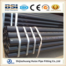 Greece API 5L Gr.B SCH40 black seamless steel pipe