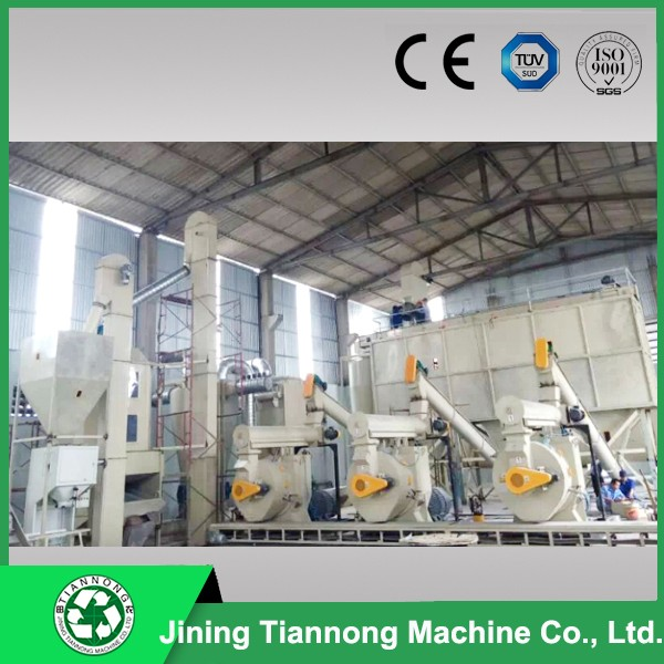 hot sale promotion complete wood pellet machinery line-daivy