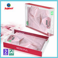 Clear square plastic boxes with lid, t-shirt packaging boxes