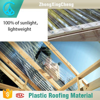 FRP transparent roof tile Economic roof heat insulation materials Spanish ceramic roof tiles