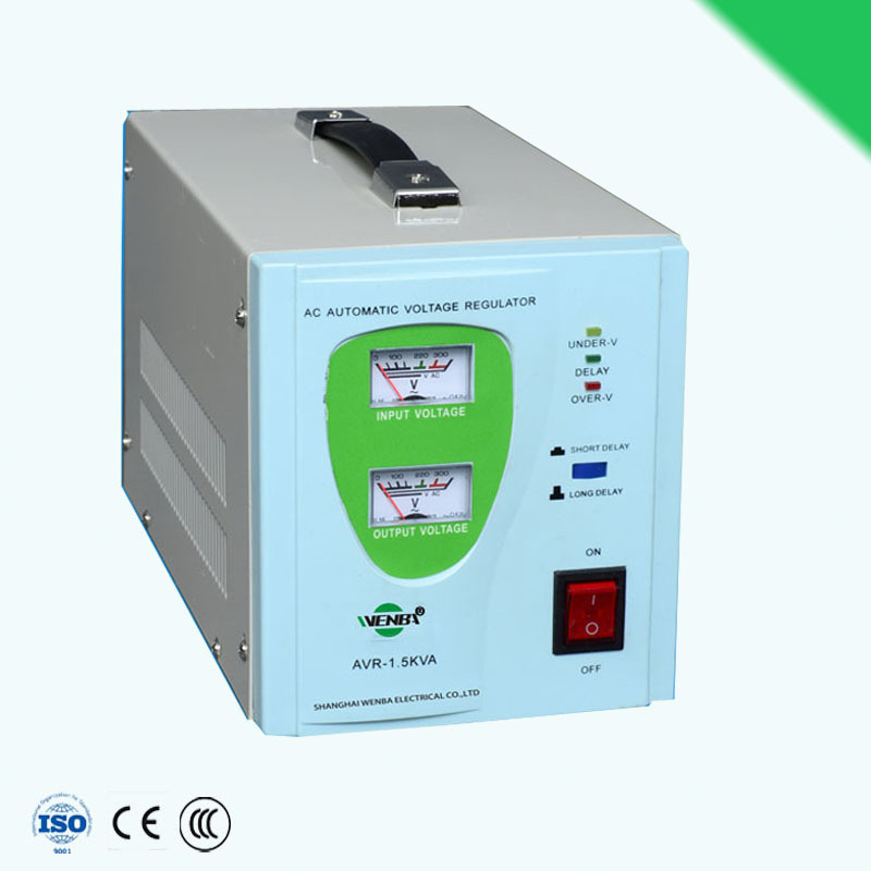 AVR-1.5kva AVR relay type AC home use power stabilizer