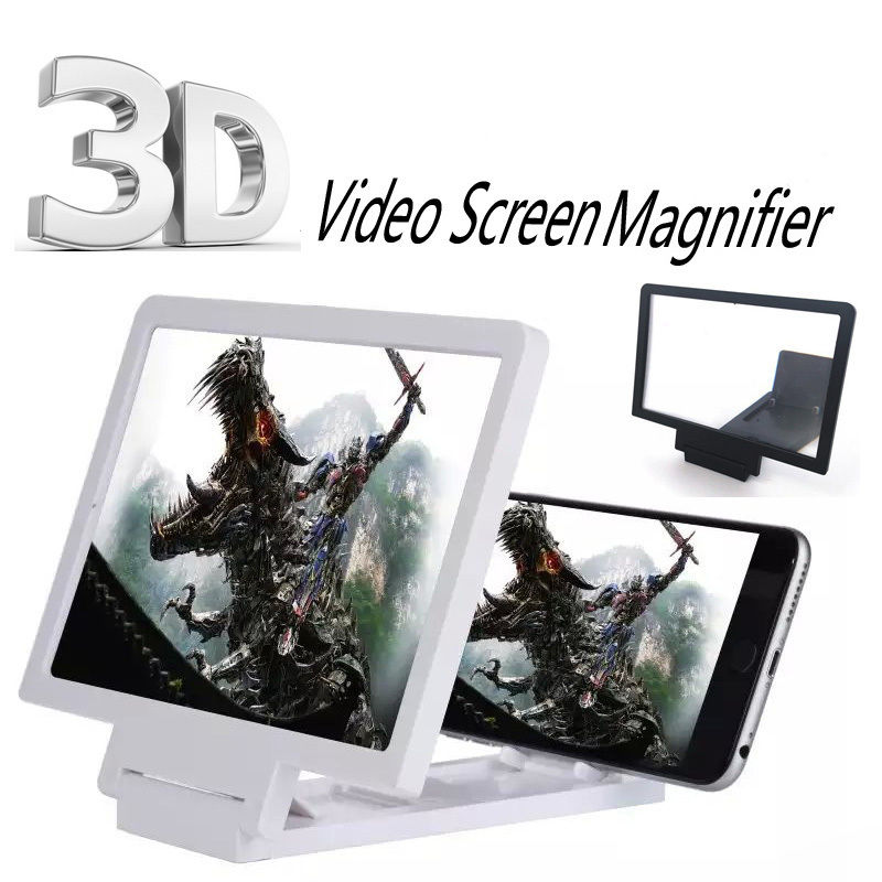 Gadget 3D Screen Magnifier Mobile Phone Video Enlarge Stand Expander Stand/Phone Screen Magnifier