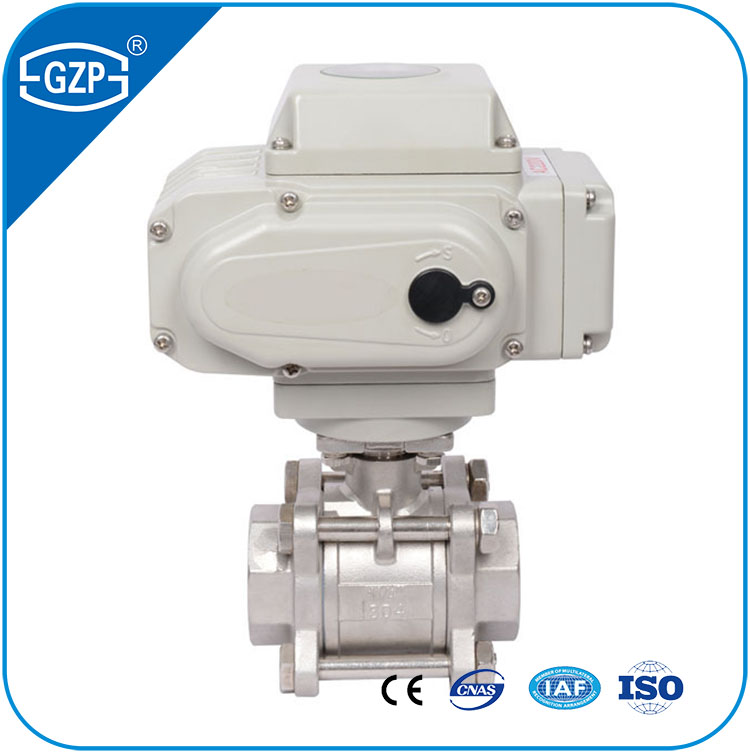 Made in China ASME GB standard DN50 Stainless Steel304 CF8 1000WOG 1PC 2PC 3PC NPT BSPT Electric Ball Valve
