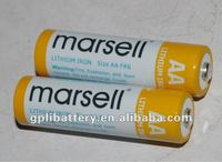 r6 aa battery 1.5v 2900mAh LiFeS2 Battery