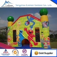2016 new design inflatable jumping castle for sale