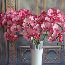 GNW wholesale artificial orchid flowers import china silk flowers high quality for wedding decorations