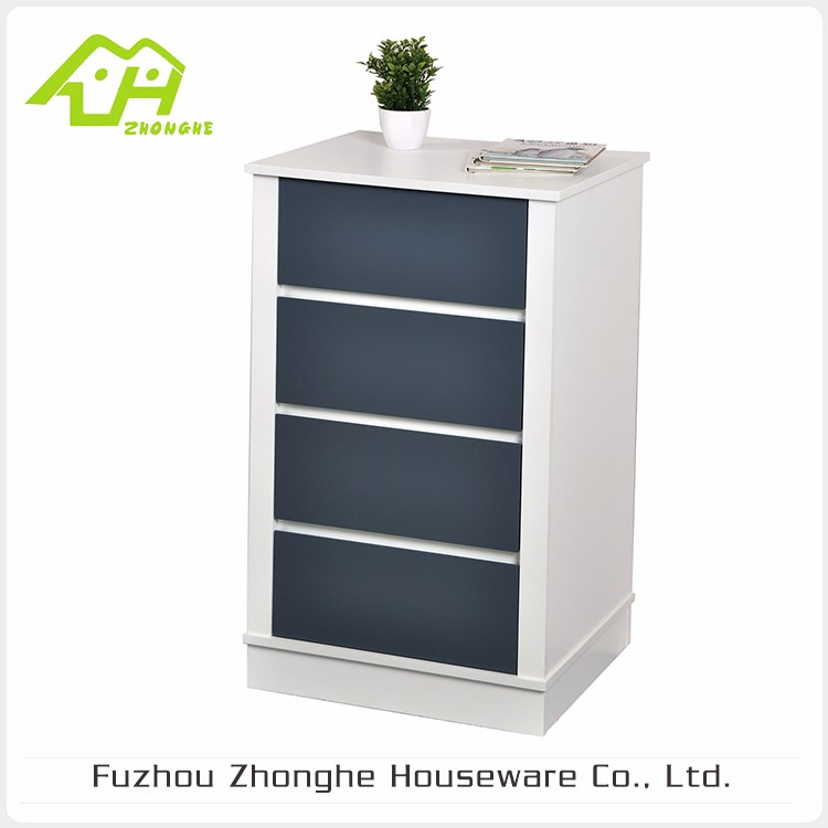 Special Design Widely Used Wood Cabinet With 4 Drawers