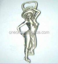 fashion ladies sex bikini girl shape metal bottle opener beer promotion products
