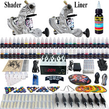 Professional tattoo kit 54 colors 8 ml tattoo inks