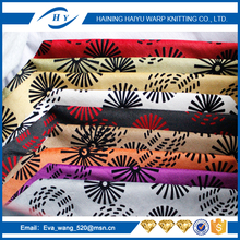 made in china flocking fabric plush fabric for sofa cover