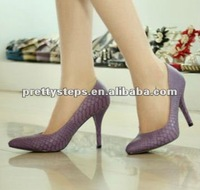 Pretty Steps 2012 fancy dressing women high heel shoes pump