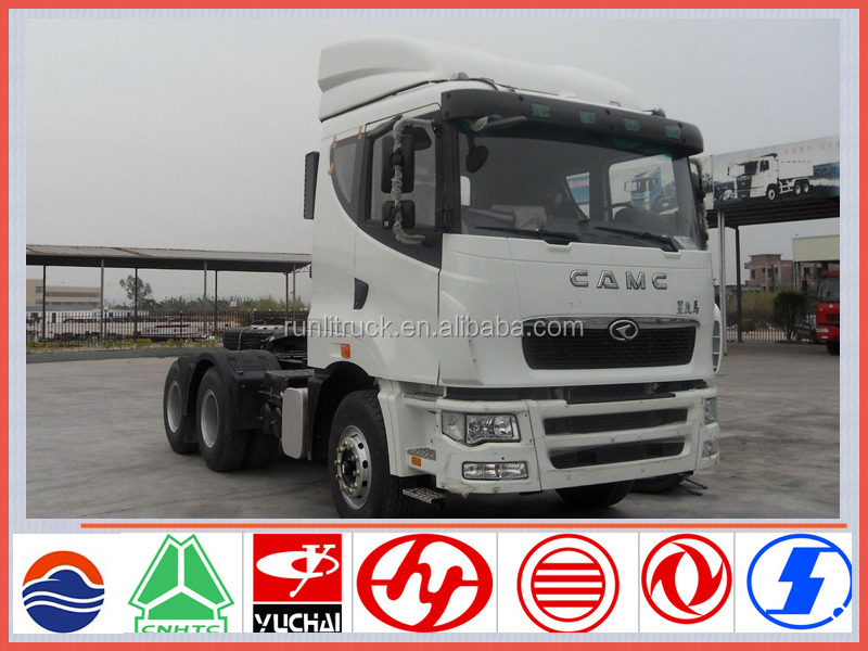 China brand new CAMC 6*4 tractor truck for sale in dubai