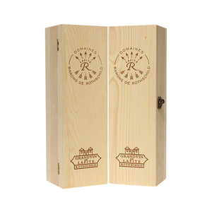 world cup new 2018 style custom wooden wine gift box