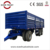 low price 3 axle 30 ton drawbar flatbed full trailer for Ethiopia