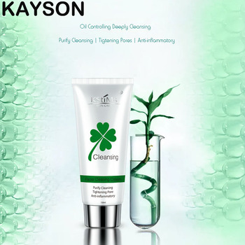 Kstime gentle formula aloe vera face wash for acne skin