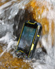 China-made 3.5 inch MTK6577 water-proof smartphone M6 with Barometer / Altimeter / Thermometer