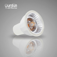 CE/RoHs listed TOP ONE Best Selling 2700K to 6500K CCT ADJUSTABLE Dimmable COB gu10 led spotlight 120 degree beam angle