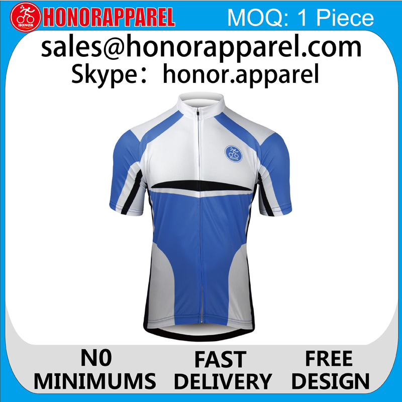 Custom Cycling Jersey Fabric Sports Jersey New Model For Men/Women/Children