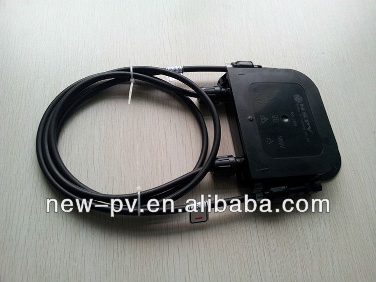 solar 4 feets junction box for solar panel and solar energy system with ip67 and TUV Certificate