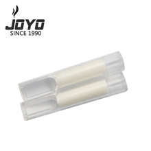 menthol cotton core disposable cigarette tips with special filtration plastic pipe smoking tube one-off cigarette filter