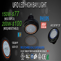 DLC UL Meanwell 200w Led High bay Light