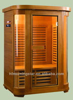 Outdoor Healthcare Steam Sauna Cabin