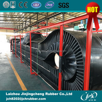 EP Fabric Types 90 Degree Sidewall Corrugated High Angle Rubber Conveyor Belt